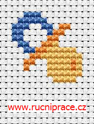 Dummy - free cross stitch pattern