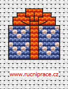 Gift - free cross stitch pattern