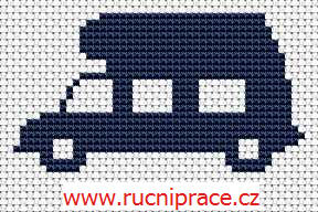 Recreational vehicle - free cross stitch pattern