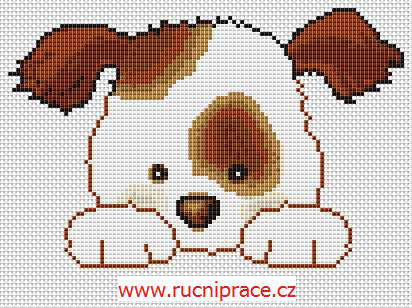 doggie - free cross stitch pattern