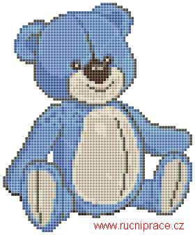 Rainbow Teddy Bear Crochet Pattern from Caron Yarn