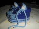 háčkované botičky