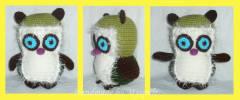 háčkovaná sovička