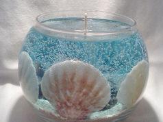 Gelová svíčka