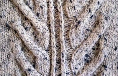 Copánkové pletací vzory
